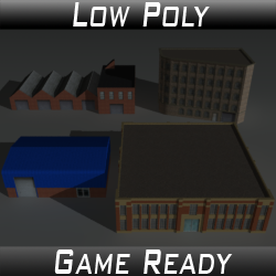 Factory Building Set 02
